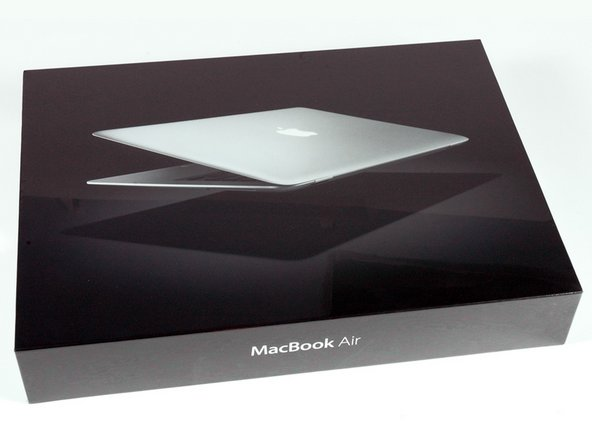 Image 1/1: We were relieved to discover the MacBook Air ships in more than just a manila envelope.