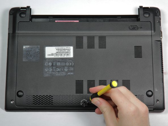 Acer Chromebook C710 Back Cover Replacement