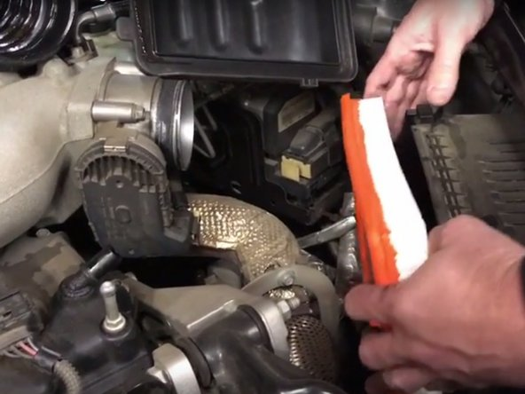 2005-2009 Buick LaCrosse Engine Air Filter Replacement