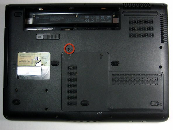 HP Pavilion dv6000 Optical Drive Replacement