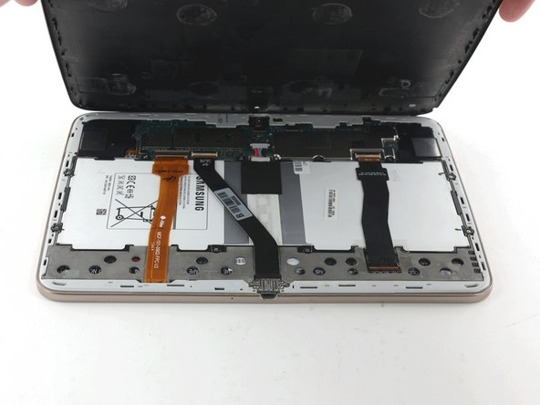 Lift the case up to remove it.