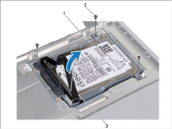 Dell Studio 1440 Hard Drive Replacement