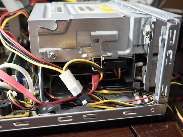 If the hard drive is currently installed in a PC, leave the drive installed.