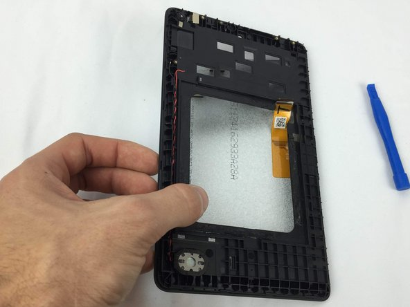 You can use  the iFixit Opening Tool to separate the LCD panel from the adhesive and it should come out of place with ease.