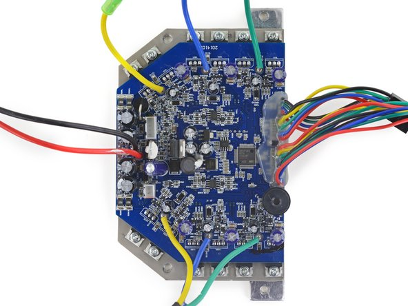 Control board in the Swagway hoverboard