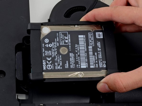 Remove the hard drive from the iMac.