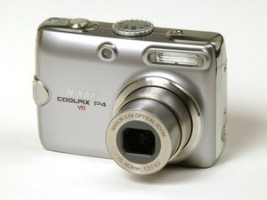 Nikon Coolpix P4 Repair