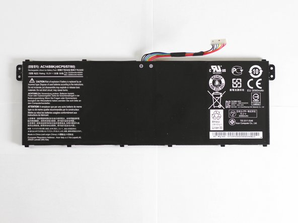Acer Aspire R7-371T-72CF Battery Replacement