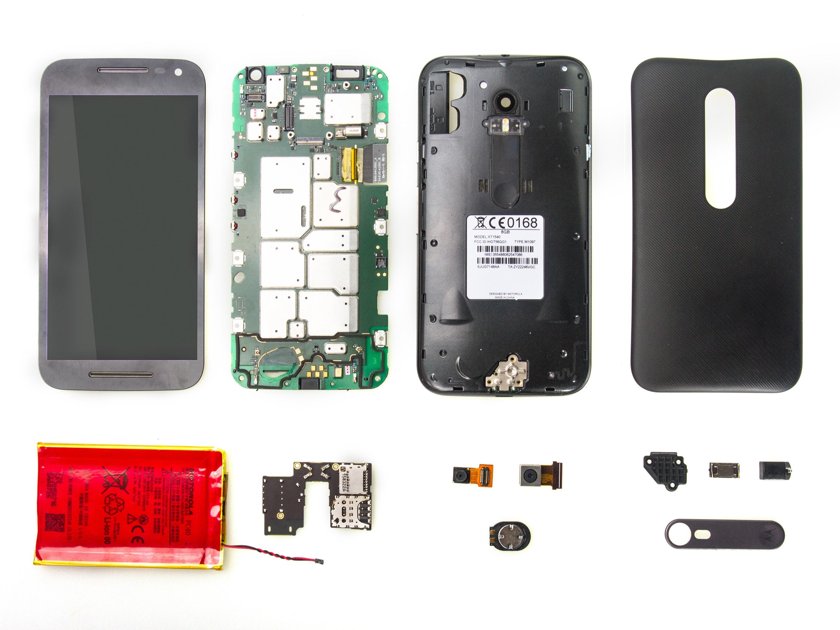 Motorola Moto G 3rd Generation Repair Ifixit