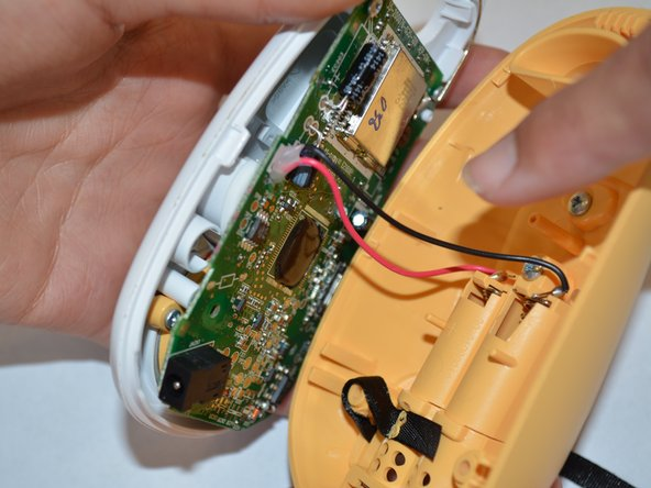 Image 3/3: Do not take apart briskly or separate the two units completely as they are connected by thin wires.