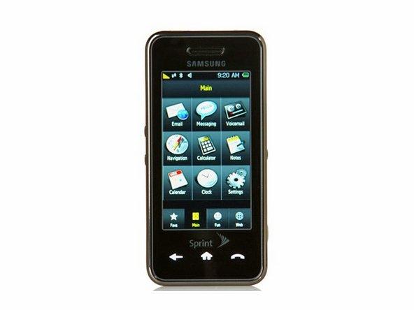 samsung instinct repair ifixit rh ifixit com Samsung Instinct M800 Battery Pink Phone Sprint Samsung Instinct