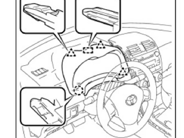 Toyota Corolla Headlight/ignition key buzzer disable