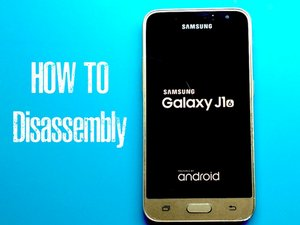 Samsung Galaxy J1 2016 Disassembly