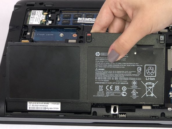 HP Elitebook 820 G1 Battery Replacement