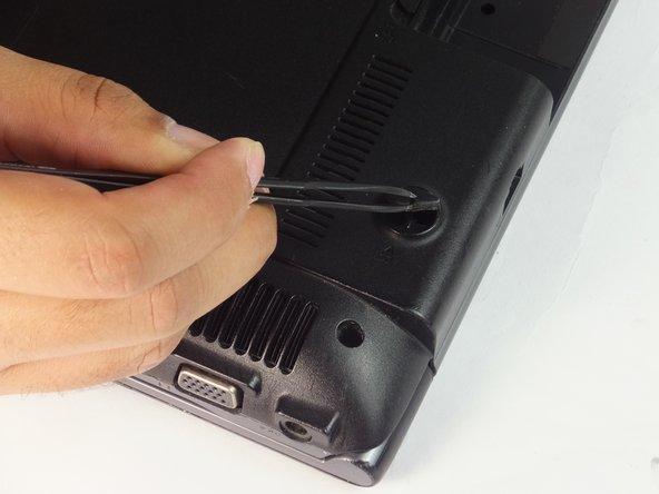 Remove three bottom dark covers using tweezers.