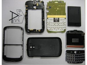 BlackBerry Bold 9000 Teardown