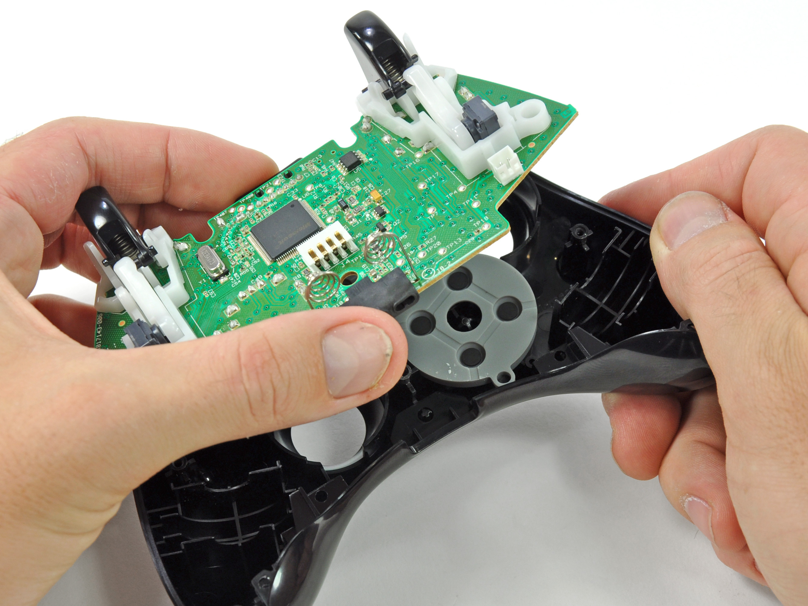 Xbox 360 wireless controller repair ifixit xbox 360 wireless controller logic board replacement ccuart Gallery