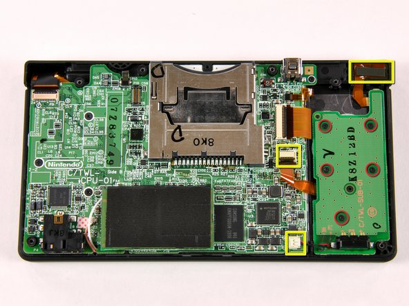 Image 1/1: Removing the battery PCB is a pretty straightforward procedure: