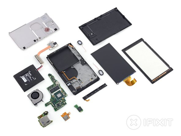 It's time to hit you with our best shot some layout shots! Here are the Nintendo Switch's delicately laid out internals.