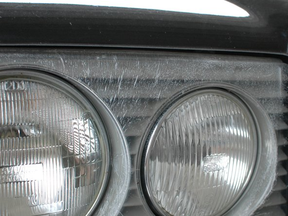 The headlights on U.S. cars, however, are sealed beams in a glass housing. The fog lights are glass too. These should not be cracked. Small rock chips are typical.