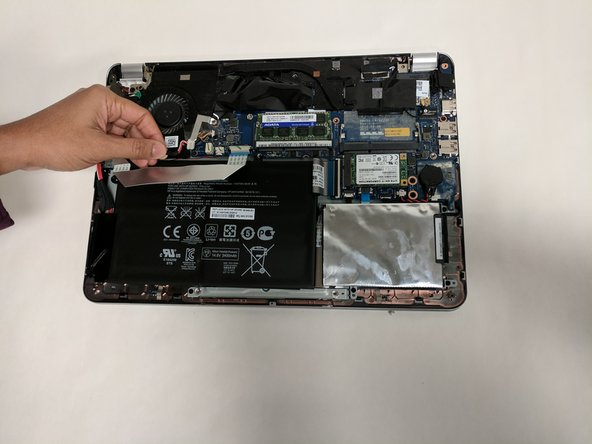 HP Envy 4-1105dx Battery Replacement