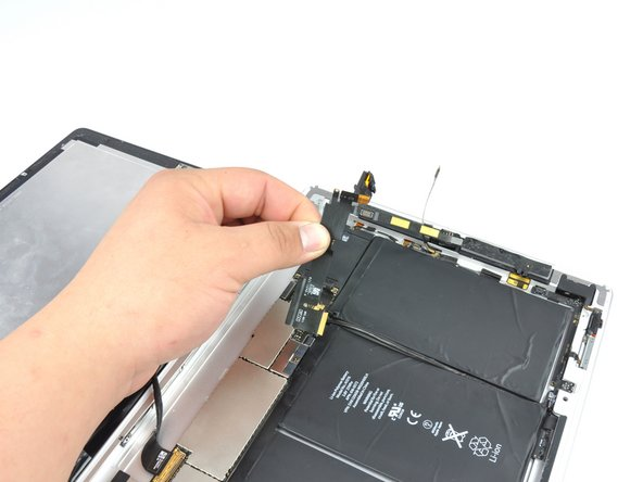 Remove the headphone jack from the iPad 2.