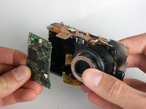 Disassembling Canon Powershot SD880 Logic Board