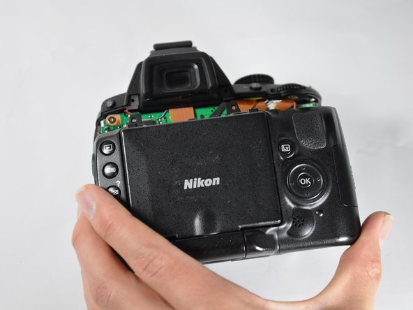 Nikon D5000 Back Panel Replacement
