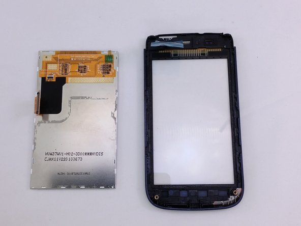Lift LCD away from digitizer screen.