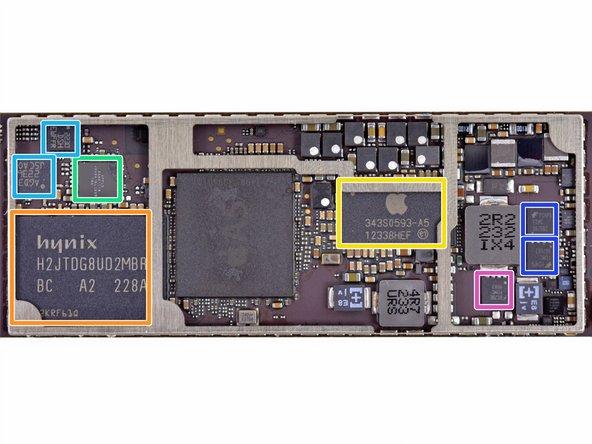 Hynix H2JTDG8UD2MBR 16 GB NAND Flash