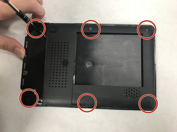 Sungale Cyberus ID707WTA Screen Replacement