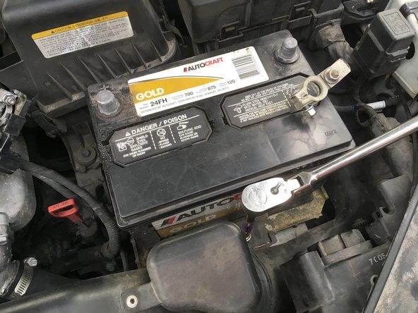 Hyundai Sonata Battery Replacement