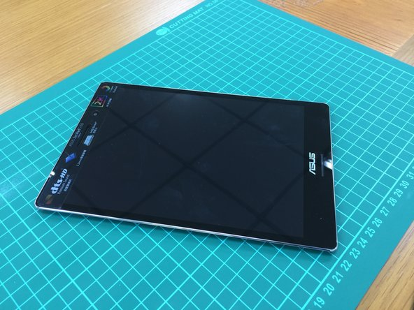 ASUS ZenPad S8 outside