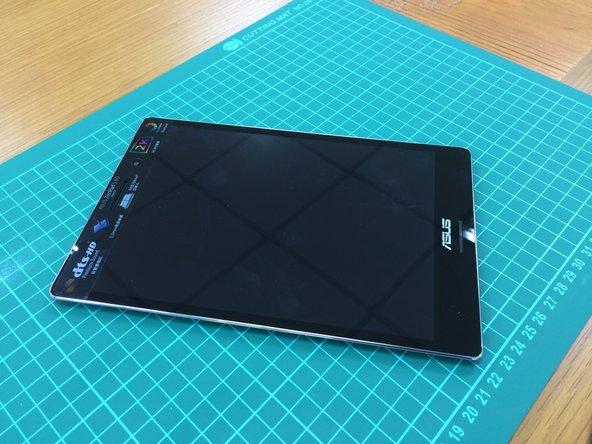 ASUS ZenPad S8 outside