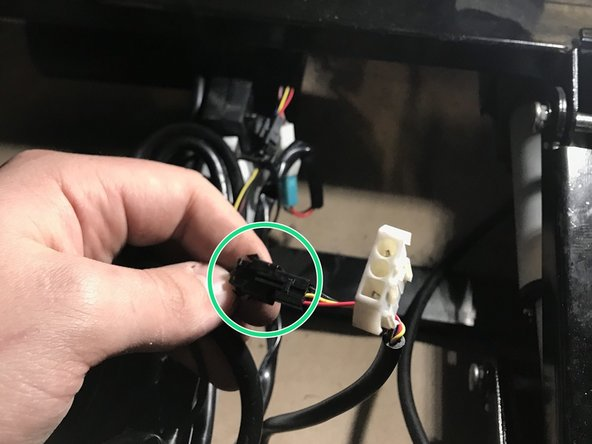 Follow wire until you find main connector.
