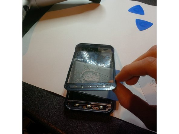 removing the digitizer.
