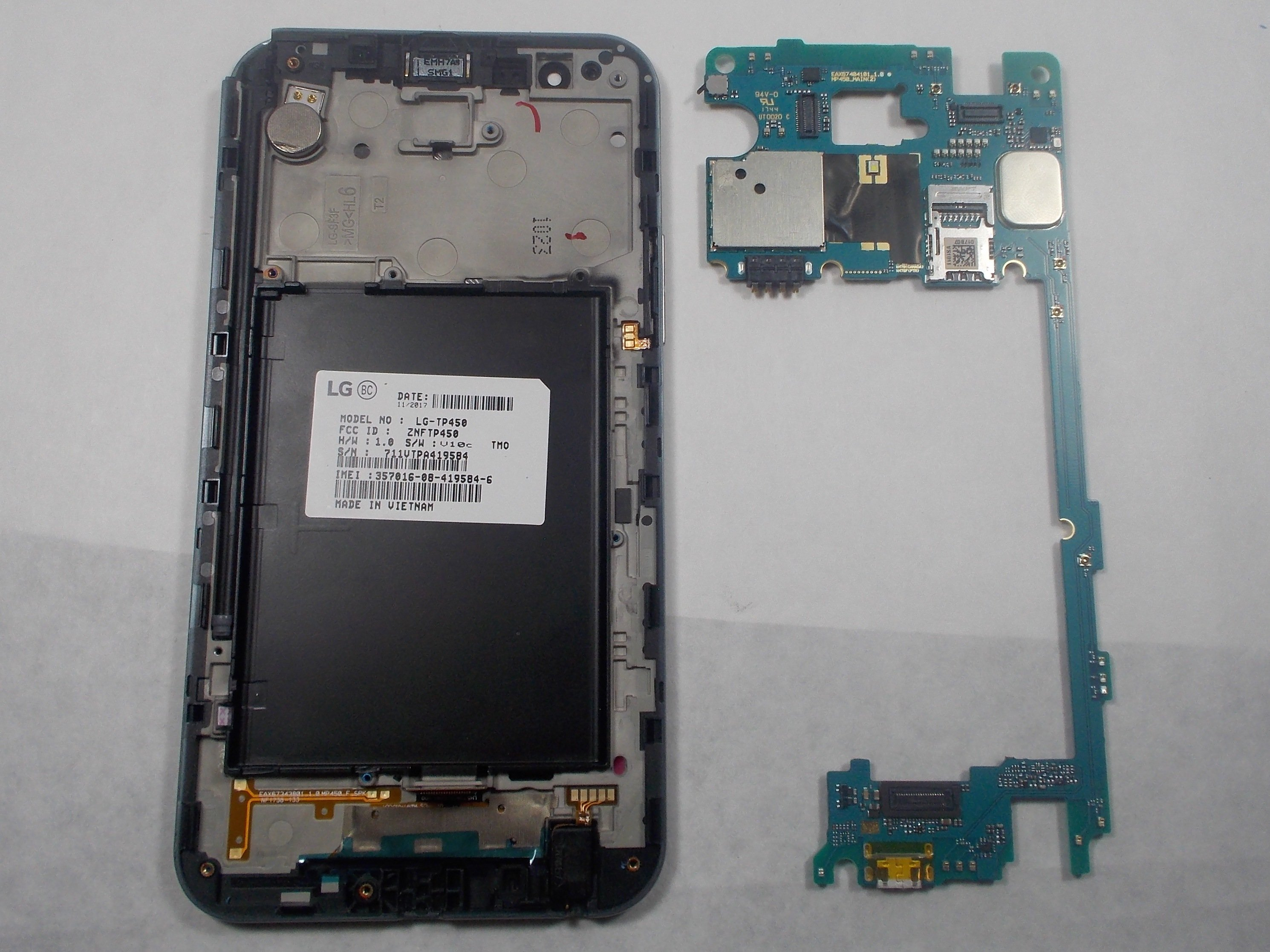 LG Stylo 3 Plus Motherboard Replacement - iFixit Repair Guide
