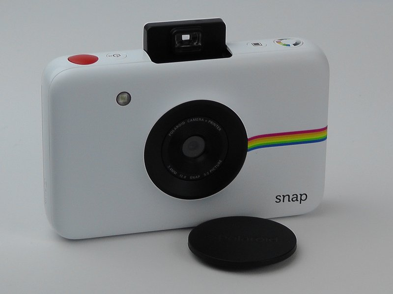 My camera prints but it comes out blank - Polaroid SNAP - iFixit