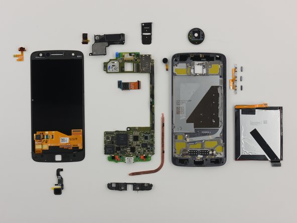The Lenovo Moto Z earns a 7 out of 10 on our repairability scale (10 is the easiest to repair):