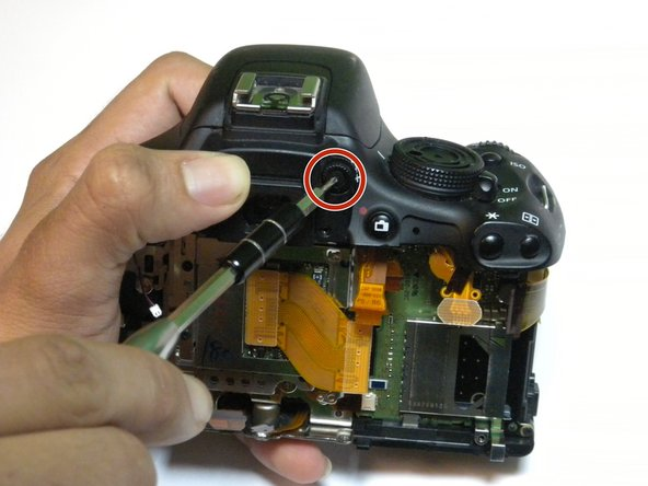 Image 1/1: When replacing, make sure you do not tighten the screw too much, as the knob will be locked in position if you do.