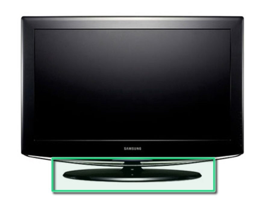 removing the samsung la40r81bd 40in lcd tv stand ifixit repair guide - Samsung Tv Base Stands