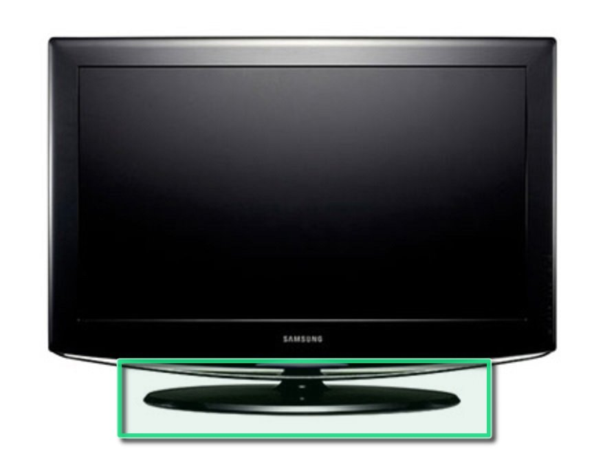 Removing The Samsung La40r81bd 40in Lcd Tv Stand Ifixit Repair Guide