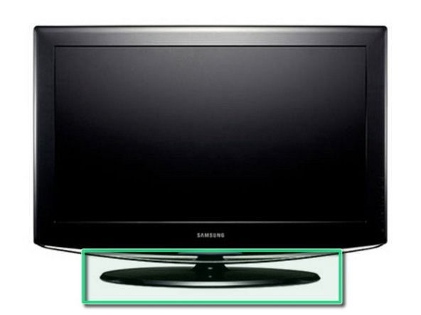 Removing the Samsung LA40R81BD 40in LCD TV Stand