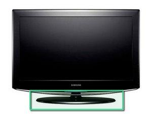 Samsung LA40R81BD  40インチ LCDテレビスタンドの取り外し