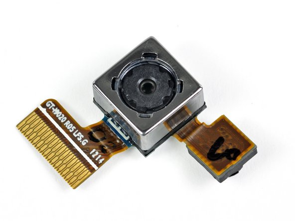 Image 1/2: Interestingly, the two cameras share the same connector on the motherboard and can be removed as a singular unit.
