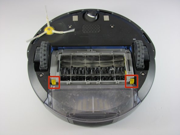 How to remove and clean iRobot Roomba 655 Pet Series brushes