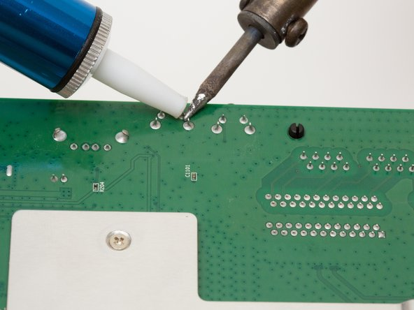 Image 1/1: For more information, see [https://www.ifixit.com/Guide/How+To+Solder+and+Desolder+Connections/750|this guide] on desoldering.