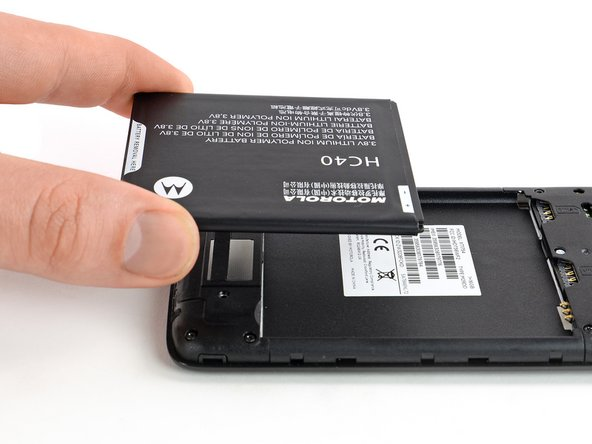 Moto C Battery Replacement