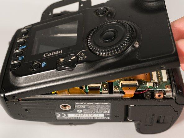 Remplacement du boîtier arrière du Canon EOS 20D