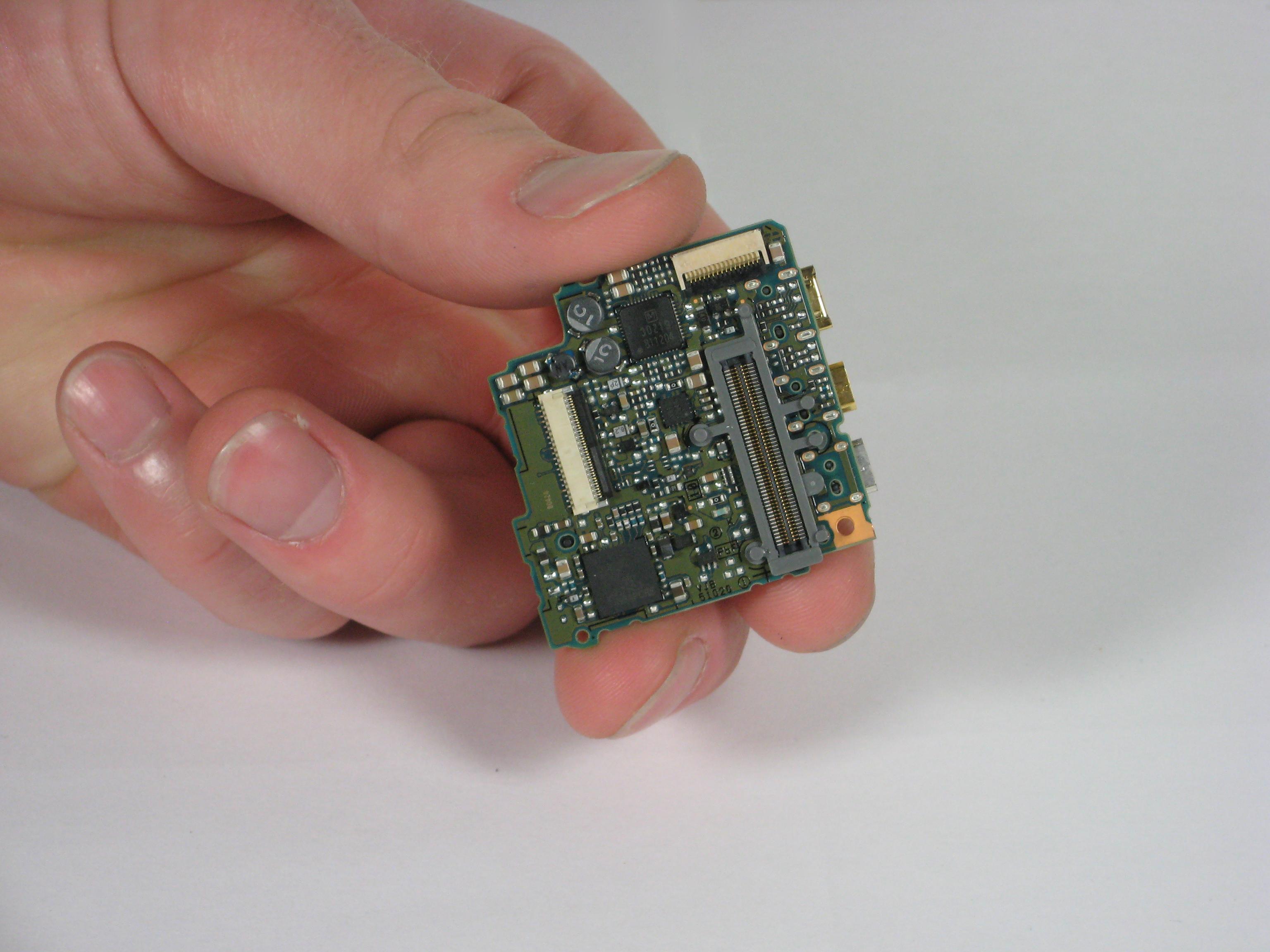 Panasonic Lumix DMC-TZ5 AV port circuit board Replacement